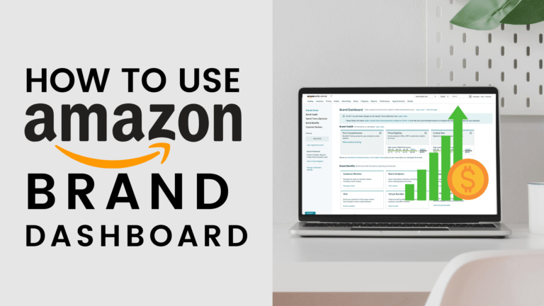how to use the amazon brand dashboard introduction